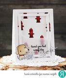 "***New Item*** Reverse Confetti - 4"" x 4"" Stamp Set - Paw Prints (coordinates with Paw Prints Die Set)"