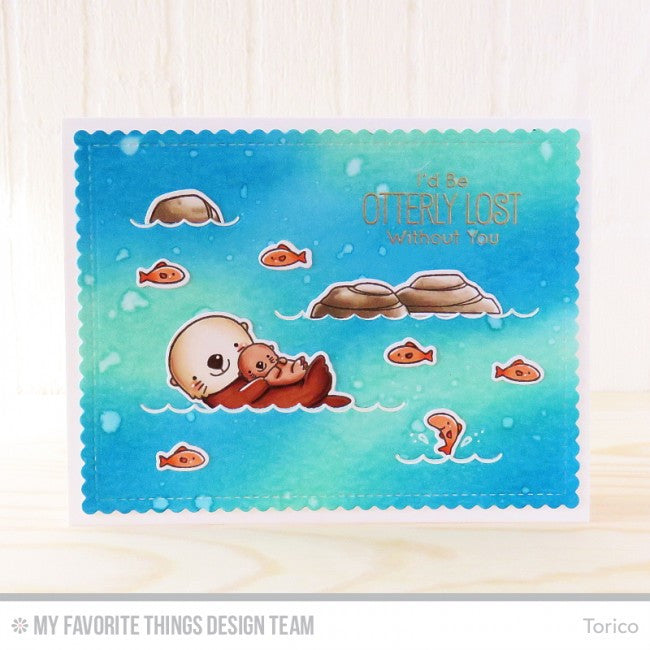 My Favorite Things - Die-Namics - BB Otterly Love You (coordinates with Otterly Love You Stamp Set)
