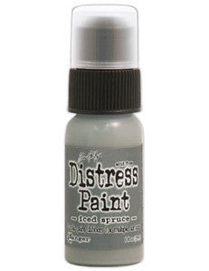Ranger Tim Holtz Distress Paint 1oz Bottle - Iced Spruce