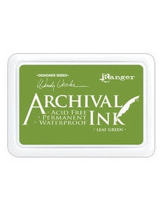 Ranger- Wendy Vecchi Designer Series Archival Ink Pad - Leaf Green