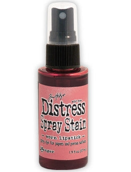 Ranger - Tim Holtz Distress Spray Stain - Worn Lipstick
