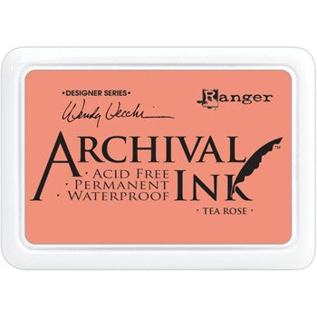 Ranger- Wendy Vecchi Designer Series Archival Ink Pad - Tea Rose