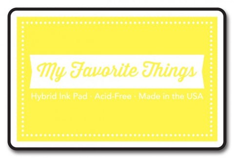 "My Favorite Things Hybrid Ink Pad 3"" x 2"" - Sunshine"