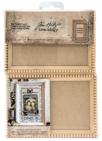 Tim Holtz - Idea-Ology Mini Framed Panels