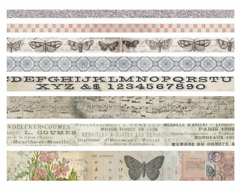 Tim Holtz - Idea-Ology Design Tape - Butterfly