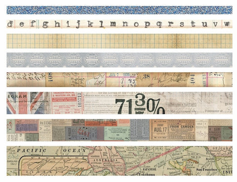 Tim Holtz - Idea-Ology Design Tape - Journey