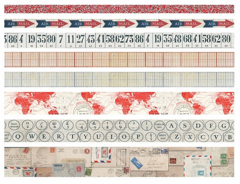 Tim Holtz - Idea-Ology Design Tape - Postal