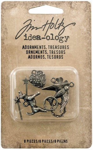 Tim Holtz - Idea-Ology Adornments - Treasures