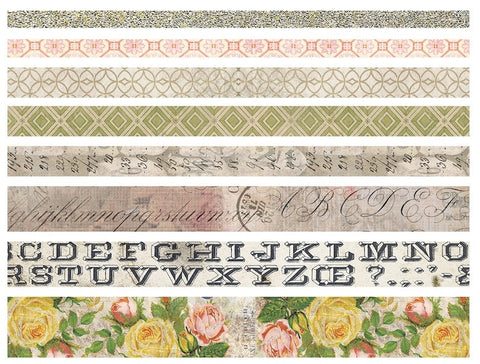 Tim Holtz - Idea-Ology Design Tape - Rose