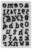 Tim Holtz - Idea-Ology Cling Foam Stamps - Type Lower