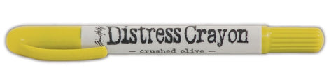 Ranger - Tim Holtz Distress Crayon - Crushed Olive