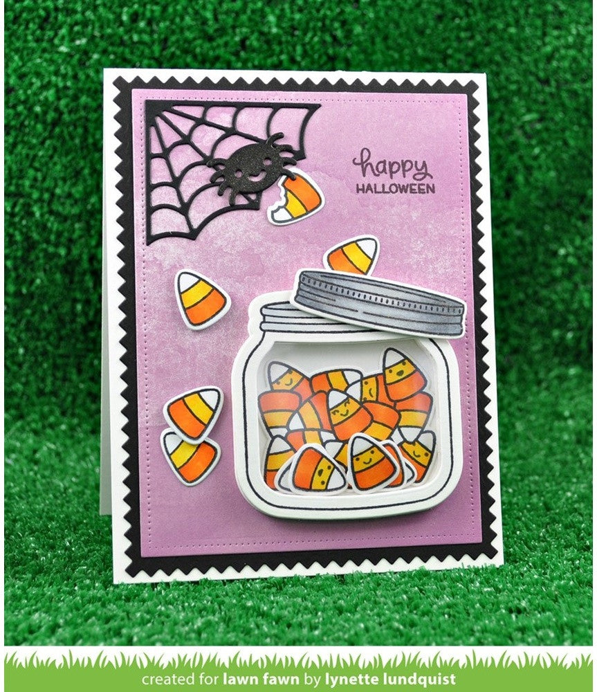 Lawn Fawn - Lawn Cuts Custom Craft Dies - Cute Cobweb
