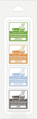 Lawn Fawn - Premium Dye Ink Cube Pack - Pumpkin Patch
