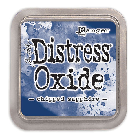 (Pre Order) Ranger - Tim Holtz Distress Oxides Ink Pad - Chipped Sapphire