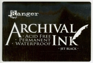 Ranger- Archival Jumbo XL Ink Pad #3 - Jet Black