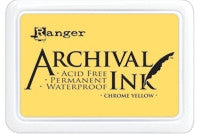 Ranger- Archival Ink Pad #0 - Chrome Yellow