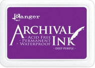 ***New Item*** Ranger- Archival Ink Pad #0 - Deep Purple