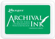 Ranger- Archival Ink Pad #0 - Emerald Green