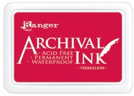 Ranger- Archival Ink Pad #0 - Vermillion