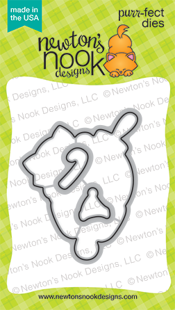 Newton's Nook Designs - Ornamental Newton Die Set (coordinates with Ornamental Newton Stamp Set)