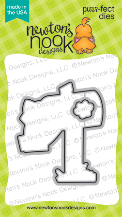 Newton's Nook Designs - Purr-fect Dies - Happy Mail (coordinates with Happy Mail Stamp Set)