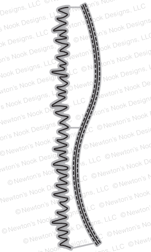 Newton's Nook Designs - Purr-fect Dies - Land Borders