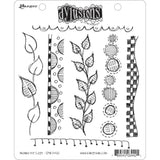 "Dyan Reaveley's Dylusions Cling Stamp Collections 8.5""X7"" - Around The Edge"