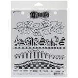 "Dyan Reaveley's Dylusions Cling Stamp Collections 8.5""X7"" - Further Around The Edge"