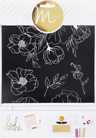 "Heidi Swapp - Minc Art Screen 6.5"" x 8.5"" - Floral"