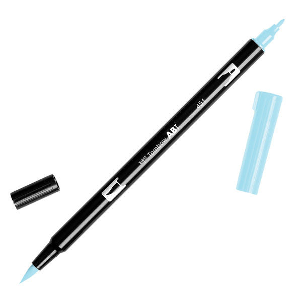 Tombow Dual Brush Pen - Sky Blue #451