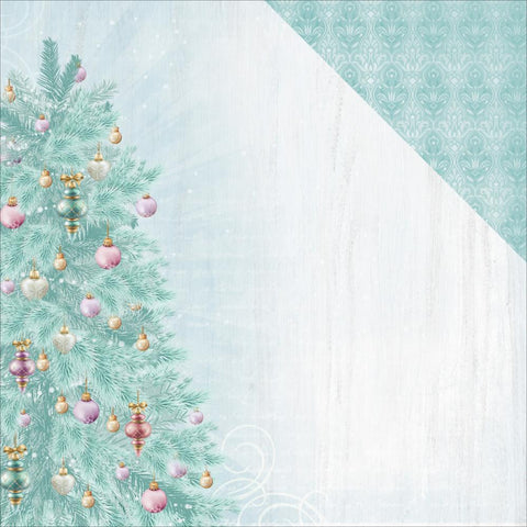 "Kaisercraft - Christmas Wishes double-Sided Cardstock 12"" x 12"" - Fir Tree"