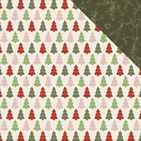 "Kaisercraft - Silent Night Double-Sided Cardstock 12"" x 12"" - Trim the Tree"