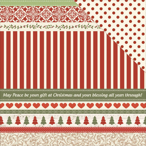 "Kaisercraft - Silent Night Double-Sided Cardstock 12"" x 12"" - Wrap the Presents"