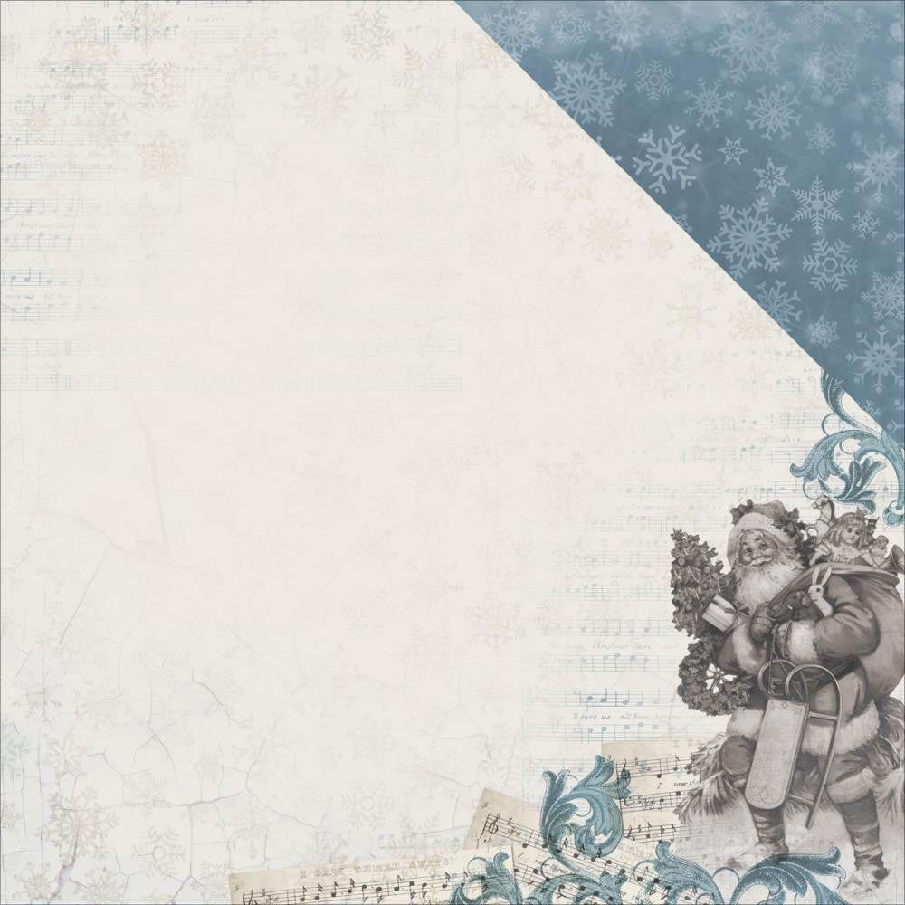 "Kaisercraft - Frosted Double-Sided Cardstock 12"" x 12"" - Chilly"