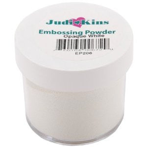 Judikins Embossing Powder - Opaque White