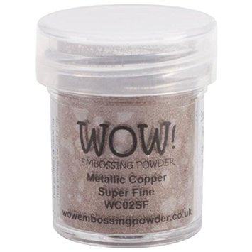 WOW Embossing Powder Super Fine 15ml - Metallic Copper