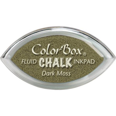 Clearsnap ColorBox Fluid Chalk Cat's Eye Ink Pad - Dark Moss