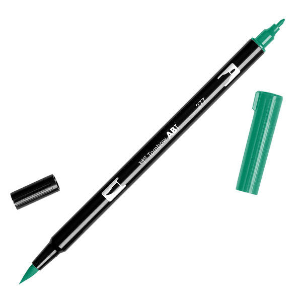 Tombow Dual Brush Pen - Dark Green #277
