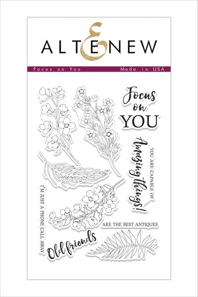 Altenew - Focus on You Stamp Set
