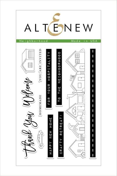 Altenew - Neighborhood Stamp Set