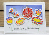 My Favorite Things - Clear Stamp Set - Doodle Blossoms (coordinates with Doodle Blossoms Die-namics)