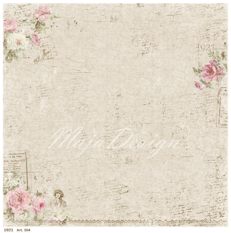 Maja Designs Vintage Summer Basics - 1921  Individual Sheets