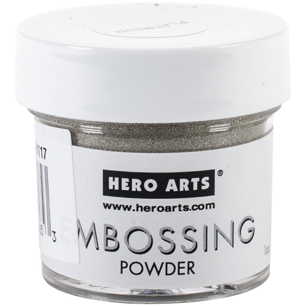 Hero Arts, Embossing Powder 1oz - Platinum