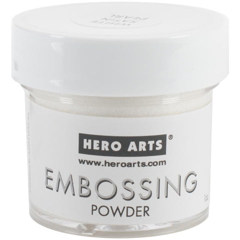 Hero Arts, Embossing Powder 1oz - White Satin
