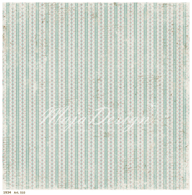 Maja Designs Vintage Summer Basics - 1934 Individual Sheets