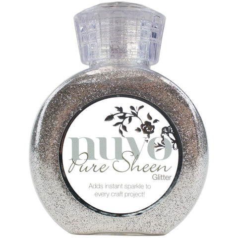 ***New Items*** Tonic Studios - Nuvo Pure Sheen Glitter - Silver