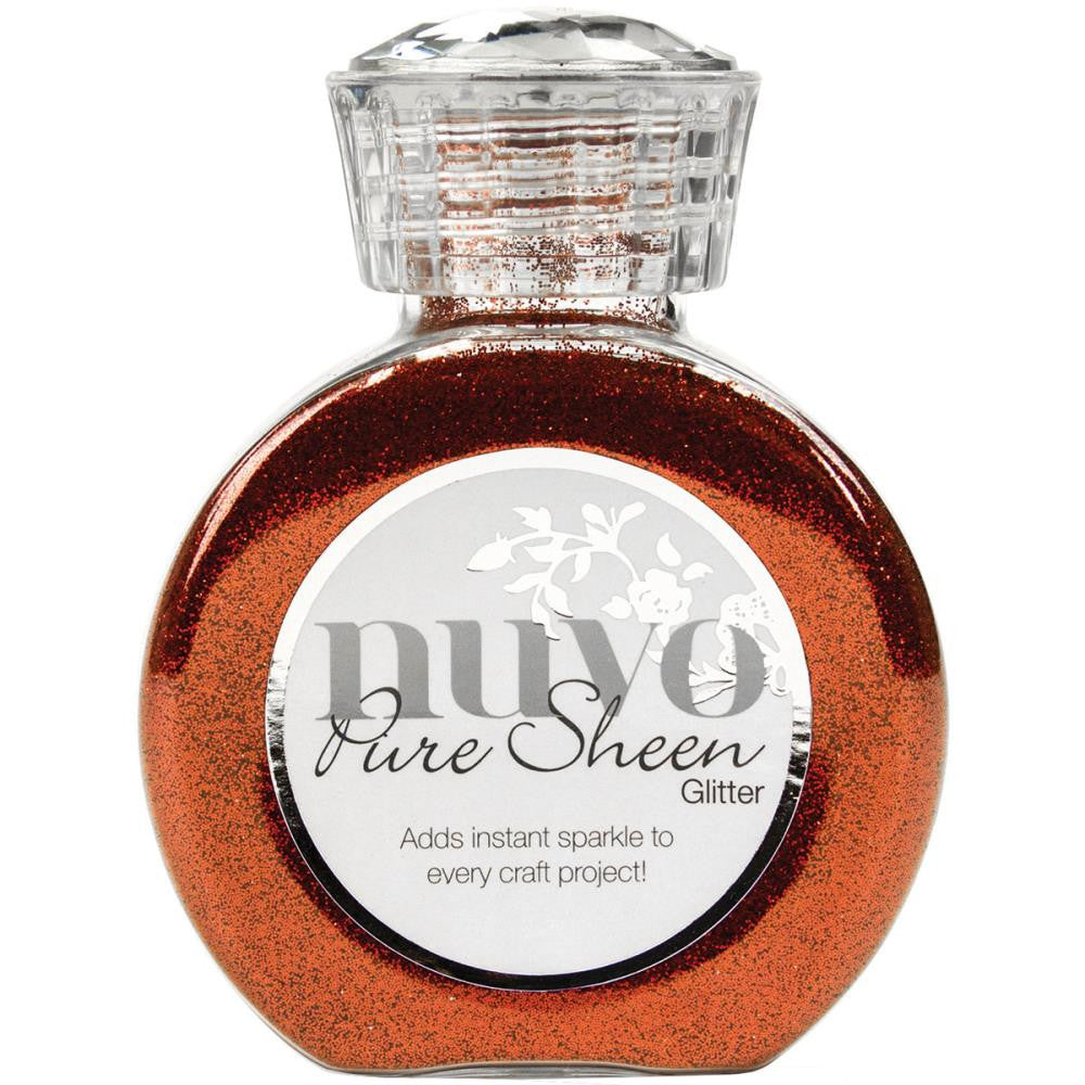 Nuvo - Pure Sheen Glitter - Scarlet Red