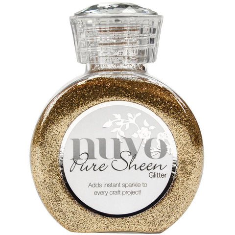 ***New Item*** Tonic Studios - Nuvo Pure Sheen Glitter - Rose Gold