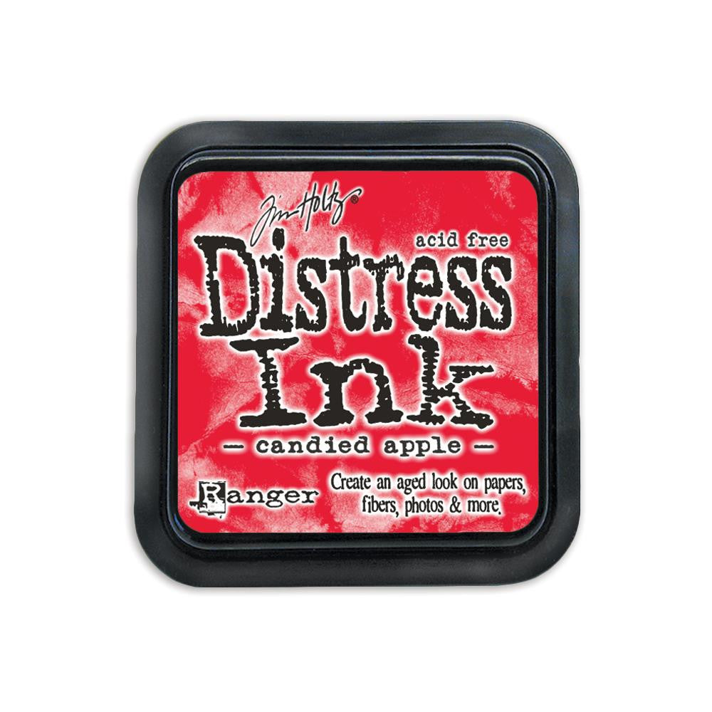 Ranger Tim Holtz Distress Ink Pad - December Color of the Month - Candied Apple