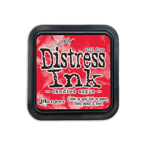 Ranger, Tim Holtz, Distress Ink Pad - December Color of the Month - Candied Apple